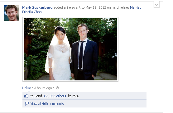 Mark Zuckerberg Update: Facebook's Mark Zuckerberg Marries Priscilla Chan