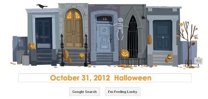 Happy Halloween! Google Doodle  | RtoZ Social Media News