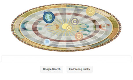Nicolaus Copernicus' 540th birthday Google Doodle | RtoZ.org - Latest Technology