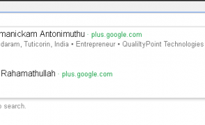 google plus auto suggest