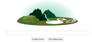 Google Shows an interactive animated Doodle for Earth Day 2013
