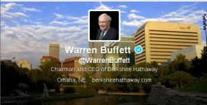 Warren Buffett Joins Twitter