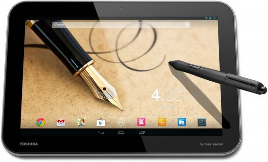 Toshiba launched three new Android tablets